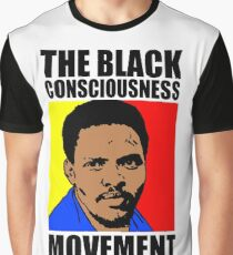 Black Consciousness Movement (BCM)-Steve Biko Graphic T-Shirt