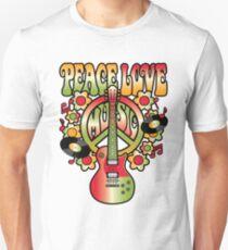 Peace-Love-Music T-Shirt