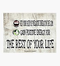 Your Life Photographic Print