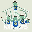 Warriors Super Team by mykowu
