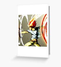 X-Burner Greeting Card