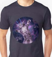 Space Cat Warrior T-Shirt