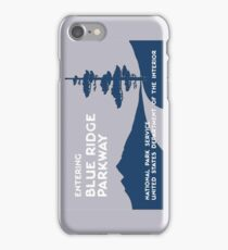 Blue Ridge Parkway Sign, VA & NC, USA iPhone Case/Skin