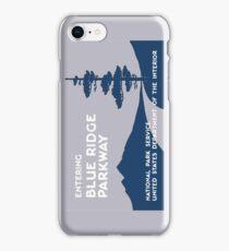 Blue Ridge Parkway Sign, VA & NC, USA iPhone Case/Skin