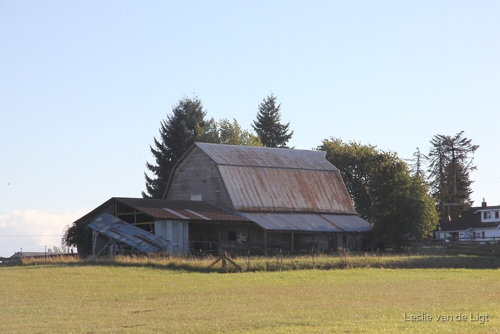 Beautiful Old Barn by Leslie van de Ligt