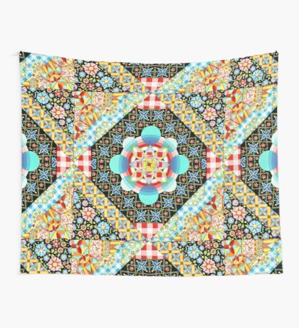 Bricolage Patchwork Wall Tapestry