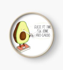 Guess its time for some Avo-Cardio! Clock