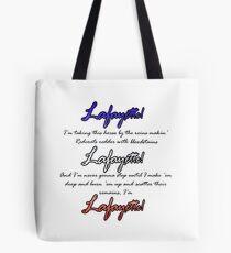 Hamilton: Lafayette! Tote Bag