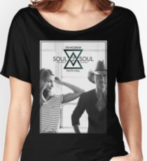 TIM MCGRAW & FAITH HILL SOUL 2 SOUL WORLD TOUR 2017 Women's Relaxed Fit T-Shirt