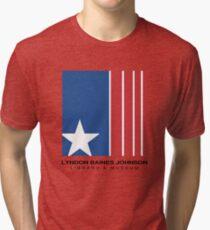 Lyndon B. Johnson Tri-blend T-Shirt