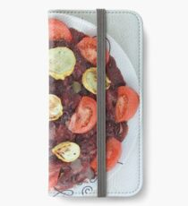 Red Beans and Rice with Vegetables iPhone Wallet/Case/Skin