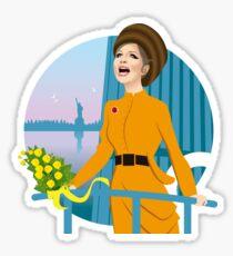 On my Parade Sticker