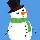 Snowman by Zombride