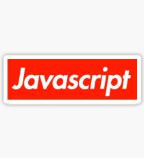 Javascript Sticker