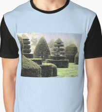 Dawn In A Topiary Garden Graphic T-Shirt