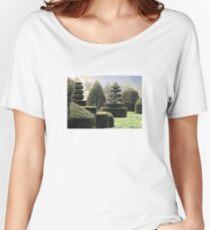 Dawn In A Topiary Garden Women's Relaxed Fit T-Shirt