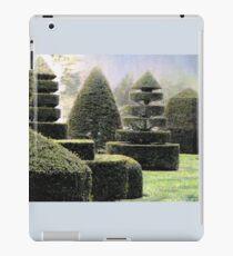 Dawn In A Topiary Garden iPad Case/Skin