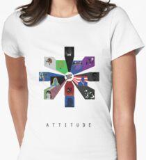 WWE - Attitude Era Womens Fitted T-Shirt