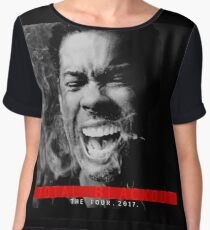 chris rock the tour 2017-total blackout Chiffon Top