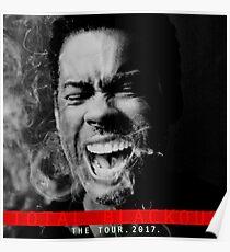 chris rock the tour 2017-total blackout Poster