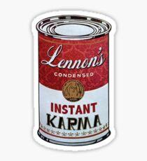John Lennons Instant Karma  Sticker