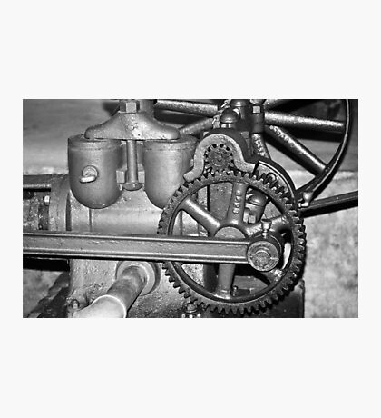 Gears and Cogs Photographic Print