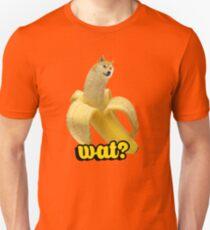 Doge banana dog shibe shiba inus wat? T-Shirt