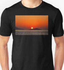 Dodecanese sunset Unisex T-Shirt