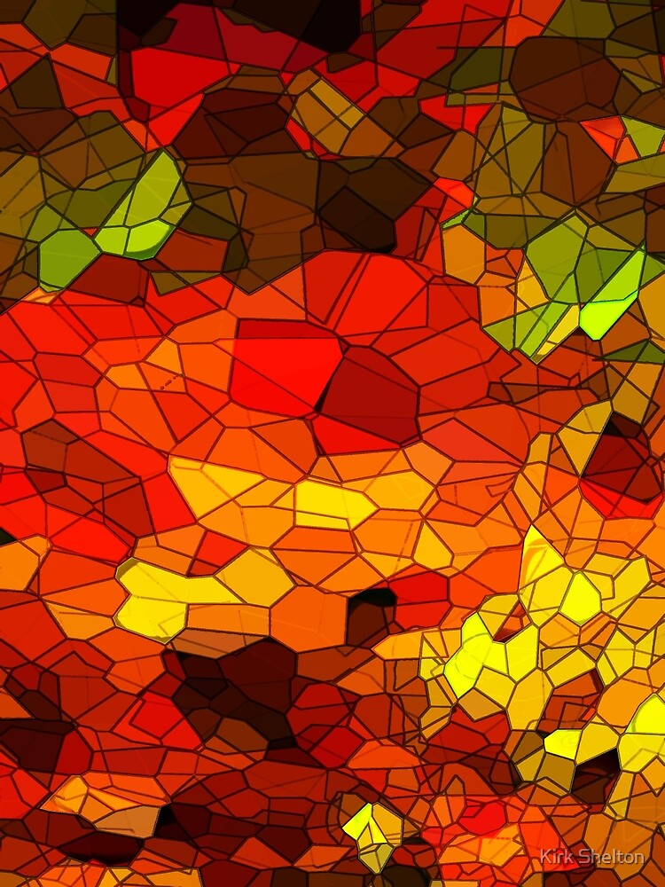 Autumn Trees by Kirk Shelton