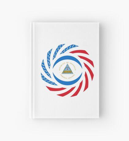 Nicaraguan American Multinational Patriot Flag Series Hardcover Journal