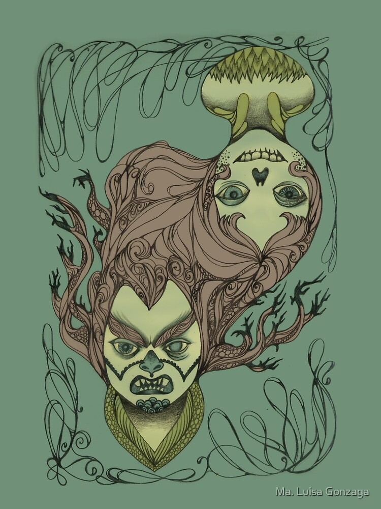 Split Personality by luisapizza