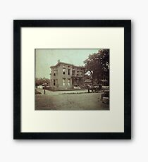 CA.1890 OLD PADUCAH HOME Framed Print