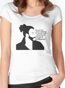 La Fayette Lyric Silhouette Women's Fitted Scoop T-Shirt