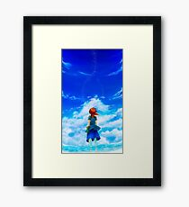 Chrono Cross: Skyward Framed Print