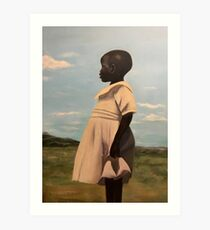 Uganda Art Print