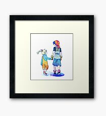 Chrono Cross: Leading Framed Print