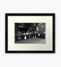 New York Street Photography 30 Framed Print