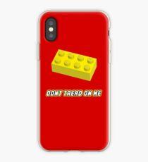 Don't Tread On Me Block iPhone Case