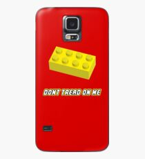 Don't Tread On Me Block Case/Skin for Samsung Galaxy