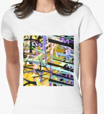 Shatter Frame Women's Fitted T-Shirt