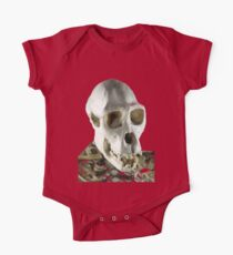 Chimpanzee skull One Piece - Short Sleeve