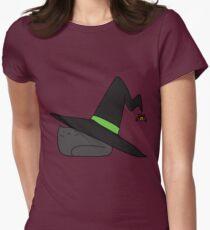Witch Hat Black Cat T-Shirt