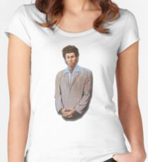 Kramer painting from Seinfeld Women's Fitted Scoop T-Shirt