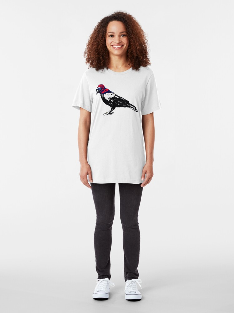 Alternate view of Here's To You Mrs. Raven Slim Fit T-Shirt