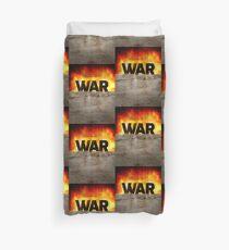 It's War Duvet Cover