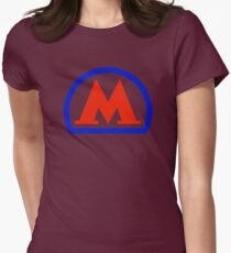 Moscow Metro 1 Women's Fitted T-Shirt