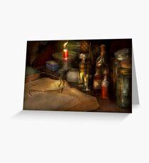 Pharmacy - A long tiring night  Greeting Card