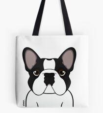 Frenchie - Brindle Pied Tote Bag