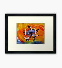 capoeira Framed Print