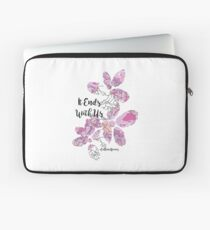 It Ends With Us Laptop Sleeve